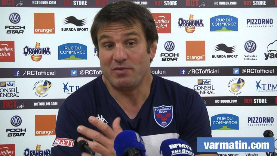 fabrice landreau fc grenoble rugby rct 141102