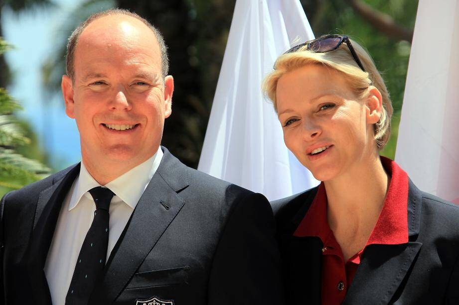 Couple princier monaco