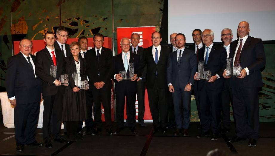 L'an passé, le trophée du manager de l'année 2013 avait été attribué à Erminio et Riccardo Giraudi. La cérémonie s'était déroulée en présence de SAS le prince Albert II.