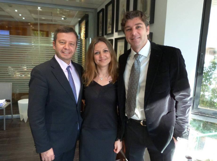Le bureau du Conseil de l'ordre des avocats composé (de gauche à droite) d'Alexis Marquet, Déborah Lorenzi-Martarello et du bâtonnier Richard Mullot, a été réélu en octobre dernier.