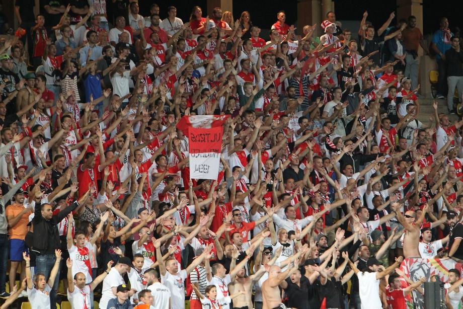 A l'issue d'un match au stade Louis-II, des incidents ont eu lieu à Fontvieille.