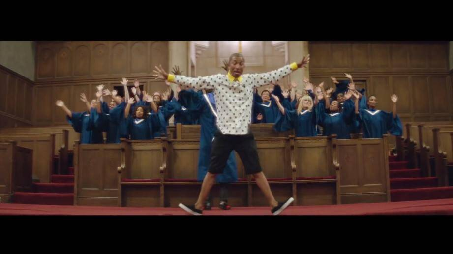 Pharrell Williams domine la liste des nommés aux NRJ Music Awards 2014