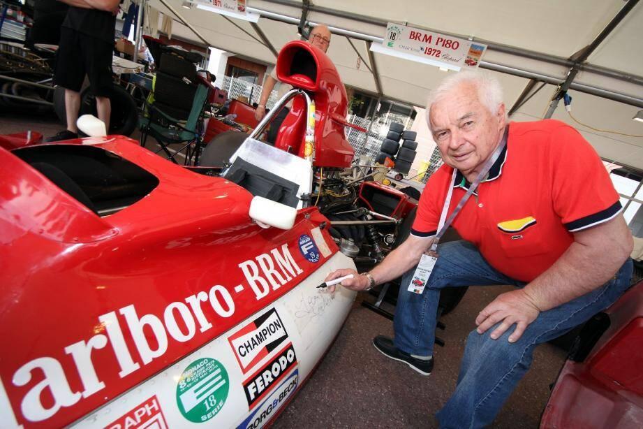 Quarante ans après son jour de gloire monégasque, Jean-Pierre Beltoise a recroisé la route d'une BRM P180 dans le paddock du Grand Prix Historique. Souvenir, souvenirs...