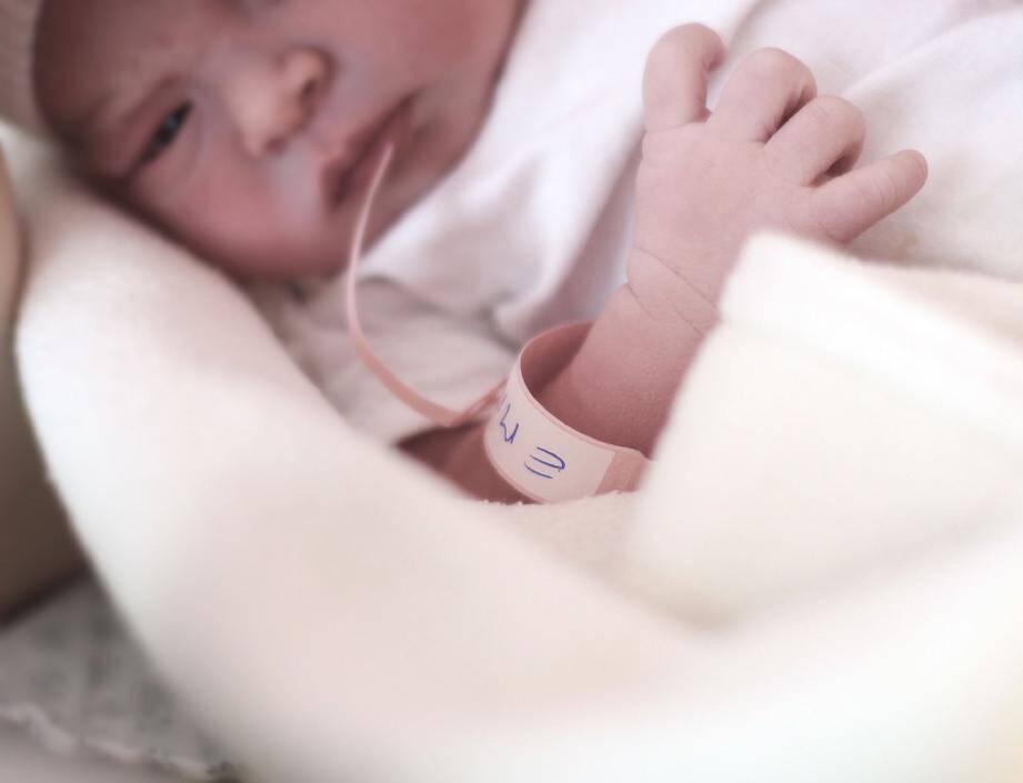 Cette petite Emma est née le 2 janvier à la maternité du CHPG. Ce prénom aura été l'un des plus donnés en 2014.