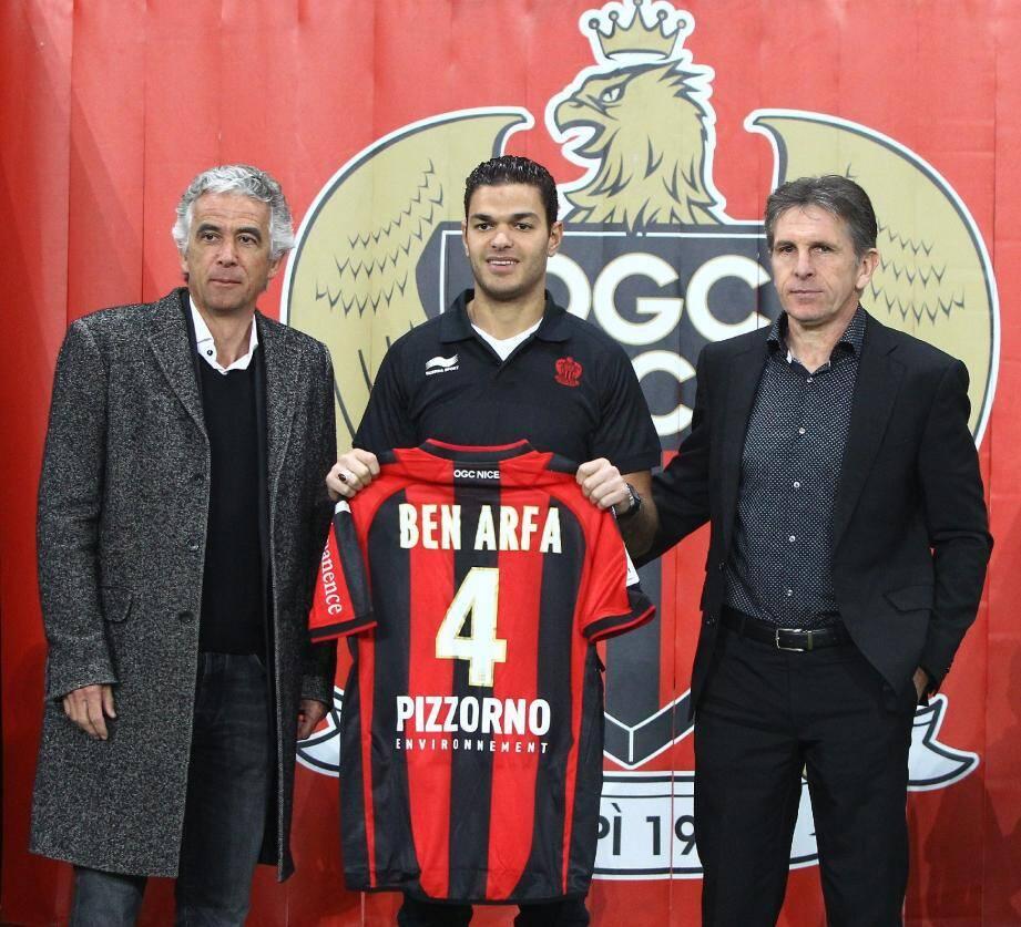 Ben Arfa ne peut pas porter le maillot d'un troisième club au cours de la saison en cours selon une source proche du dossier.