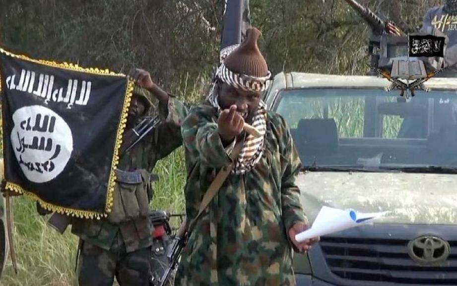 Le chef du groupe islamiste, Abubakar Shekau, a cette semaine proféré des menaces contre le Cameroun, et contre son président Paul Biya, dans une vidéo postée sur Youtube .(Photo AFP/