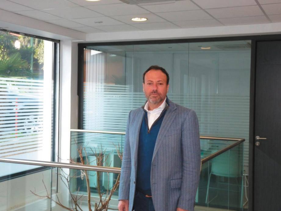 Bernard Casagrande, expert-comptable au Cannet.