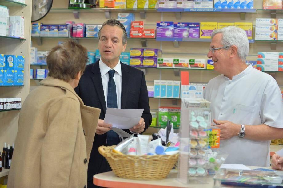 Georges Marsan a repris la pharmacie de son père et de son grand-père. Une envie d'être au service des autres, de les épauler qui explique son engagement politique.