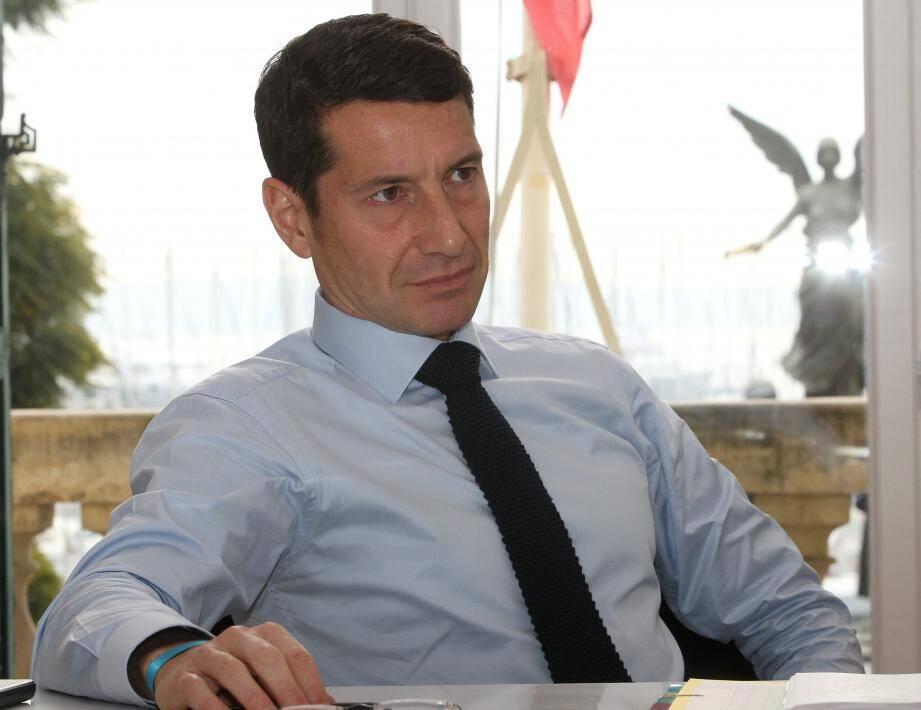 L'interview de début d'année donne aussi au maire de Cannes de dresser le premier bilan de 9 mois d'action.