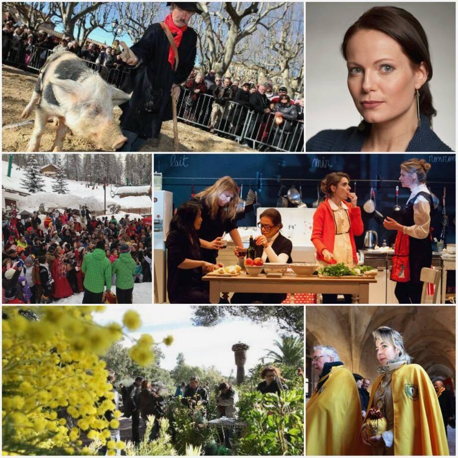 Journée de la Truffe Noire à Aups, Katia Kabanovà à Toulon, Ice Tour Nice Matin à Valberg et à La Colmiane, Shakespeare's Sister ou La Vie Matérielle à Nice, Mimosalia à Bormes-les-Mimosas et Fête de la Saint-Vincent à Saint-Maximin.