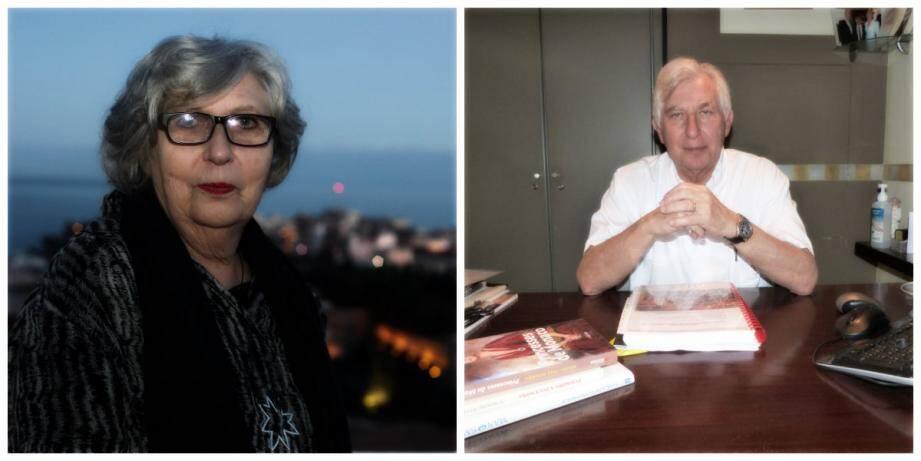Marie-Claude Beaud et Michel-Yves Mourou décorés de la Légion d'Honneur