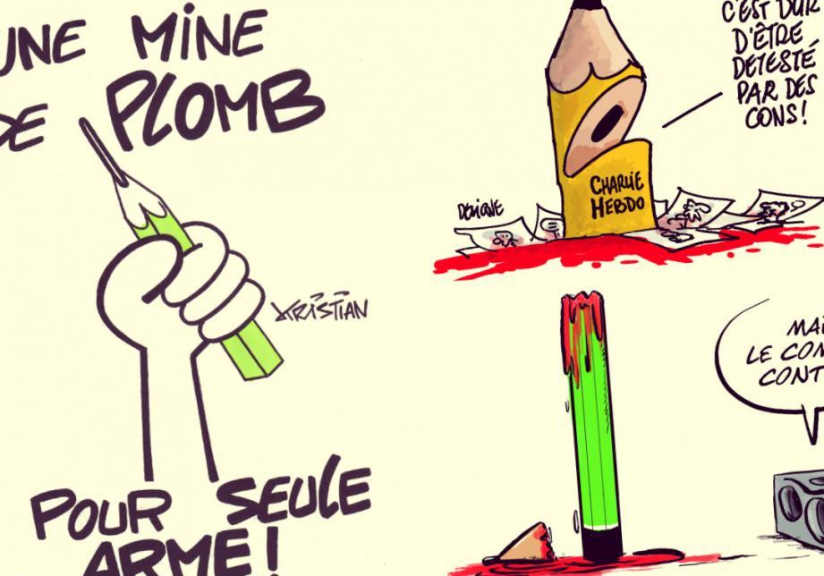 L'hommage de nos dessinateurs à Charlie Hebdo