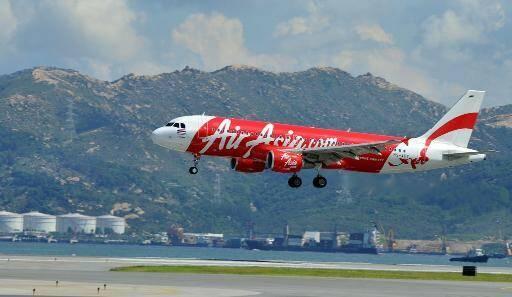 Un avion d'AirAsia