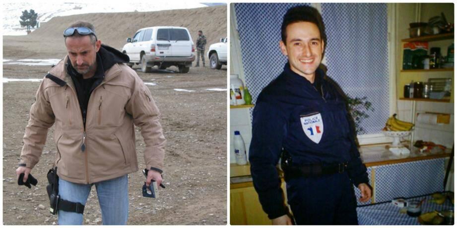 Le policier a effectué de nombreuses missions dans des zones de conflits. Ici, en Afghanistan près de Kaboul. Et au tout début de sa carrière, fier de son uniforme.