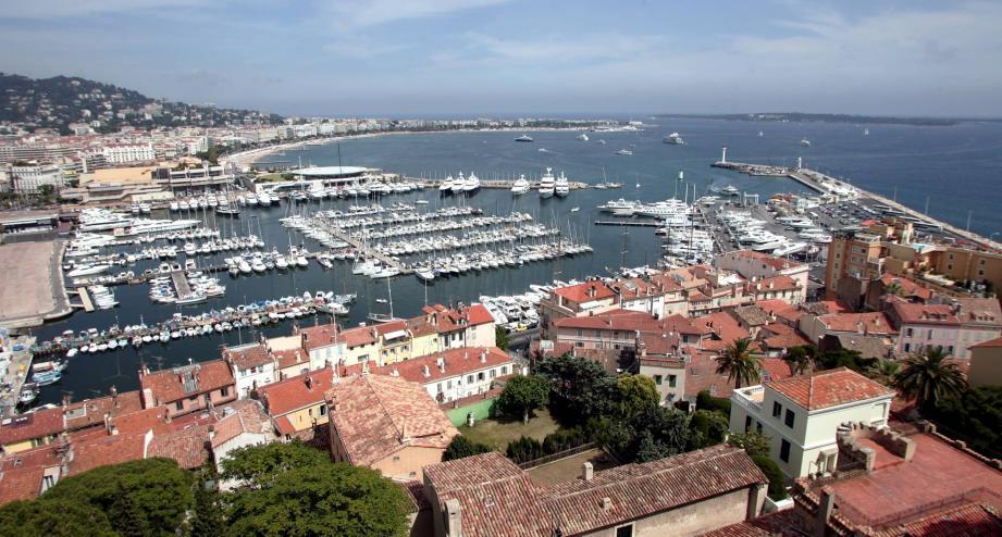 La ville de Cannes, la plus attractive du département, selon les derniers chiffres de la population de l'Insee.