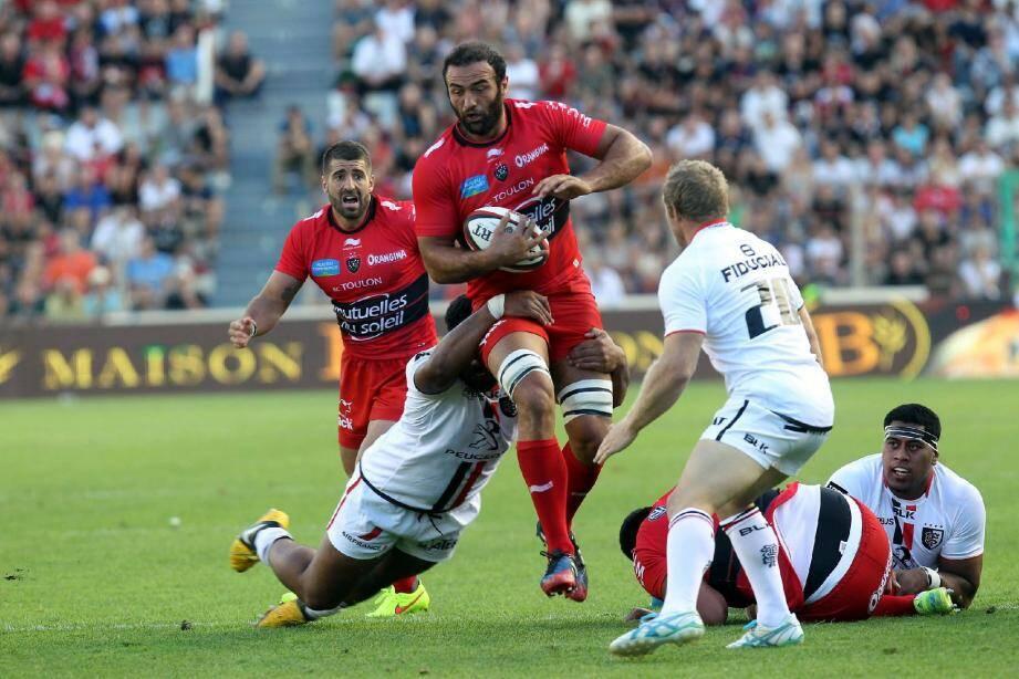 Mamuka Gorgodze, 3e ligne du RCT, retrouve son ancien club Montpellier