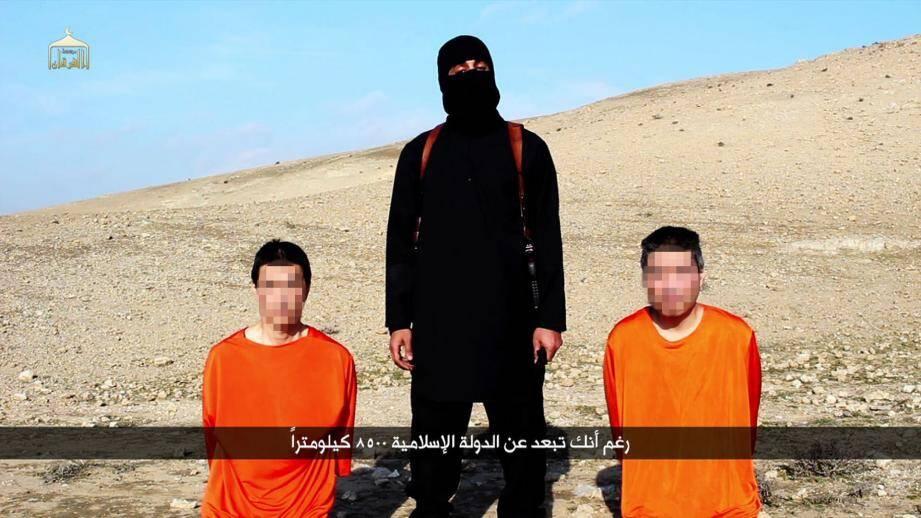 Otages japonais de l'Etat Islamique: le Japon ne pliera pas face au terrorisme