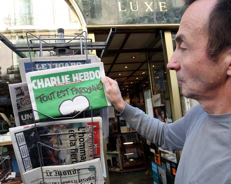 Charlie Hebdo à Cannes
