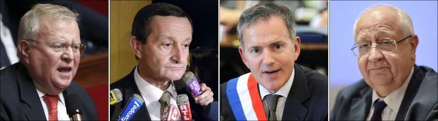 De gauche à droite : Jacques Myard (UMP), Gérard Bapt (PS), François Zocchetto (UDI) et Jean-Pierre Val (UMP).