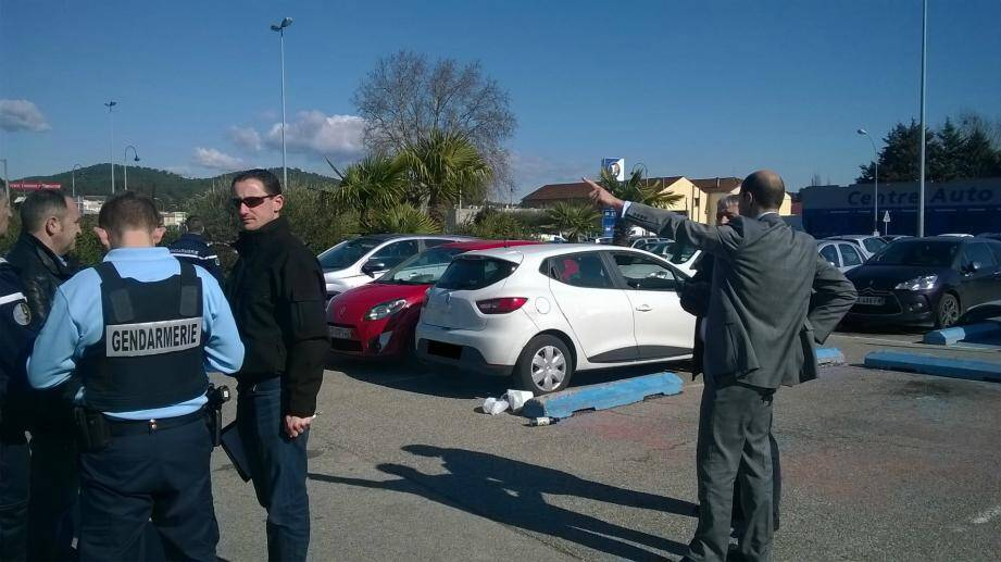 Un braquage a eu lieu mercredi matin au Leclerc de Brignoles