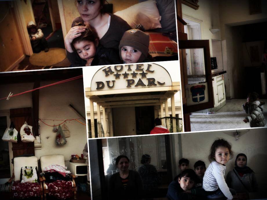 Quasi tous viennent de Barbulesti, en Roumanie. Pas mal ont perdu leur maison dans des inondations.
