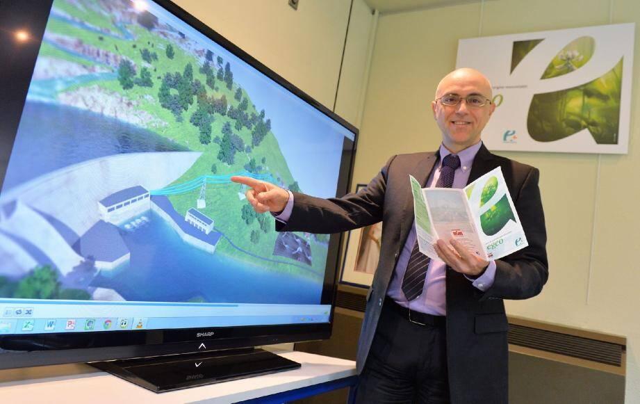 « La SMEG achète de l'électricité produite par des usines hydrauliques et la redistribue aux clients » , explique Pierfranck Pelacchi.