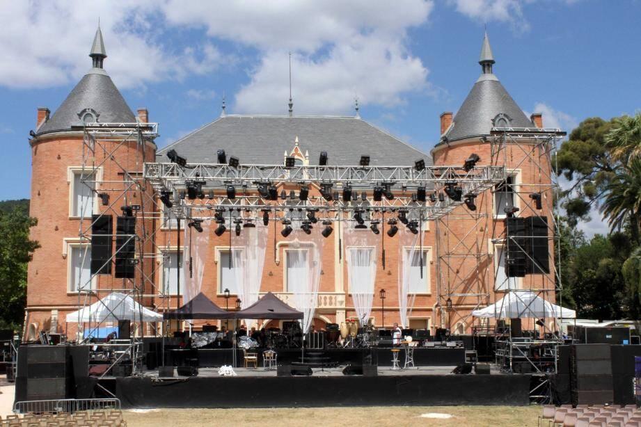 Le château, un cadre somptueux pour un festival de qualité.