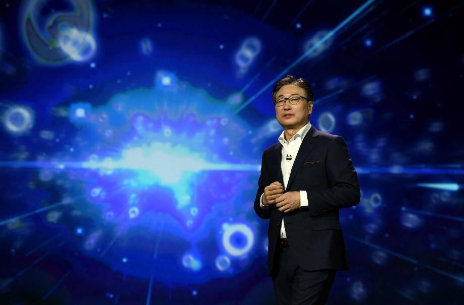 « En 2020, tous les produits Samsung seront connectés » , a rappelé BK Yoon, p.-d.g de Samsung Electronics.