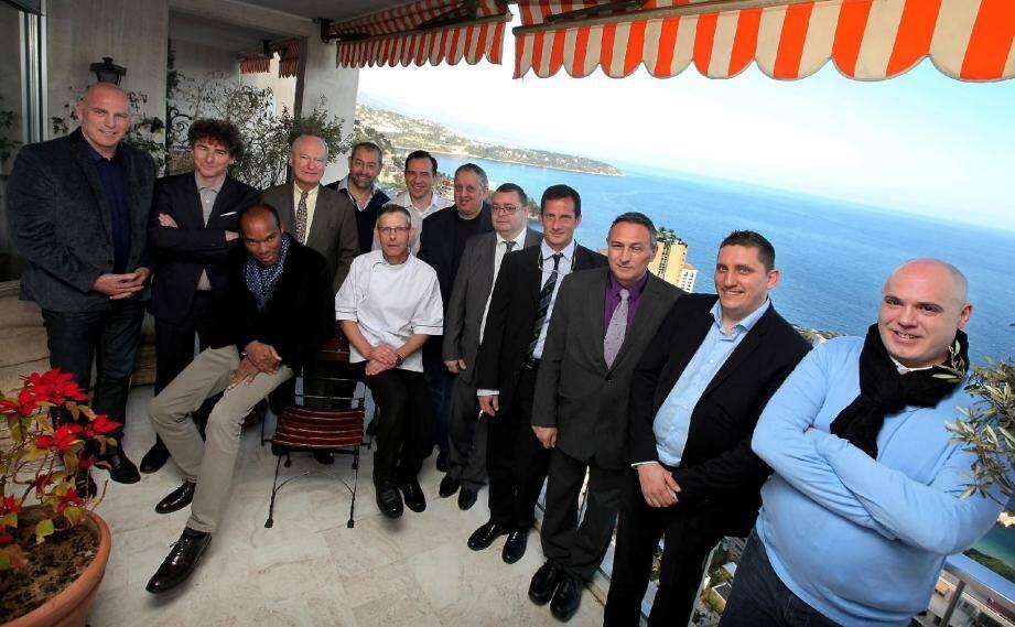 L'ambassadeur de France à Monaco Hadelin de la Tour du Pin a accueilli les chefs participants hier dans sa résidence.