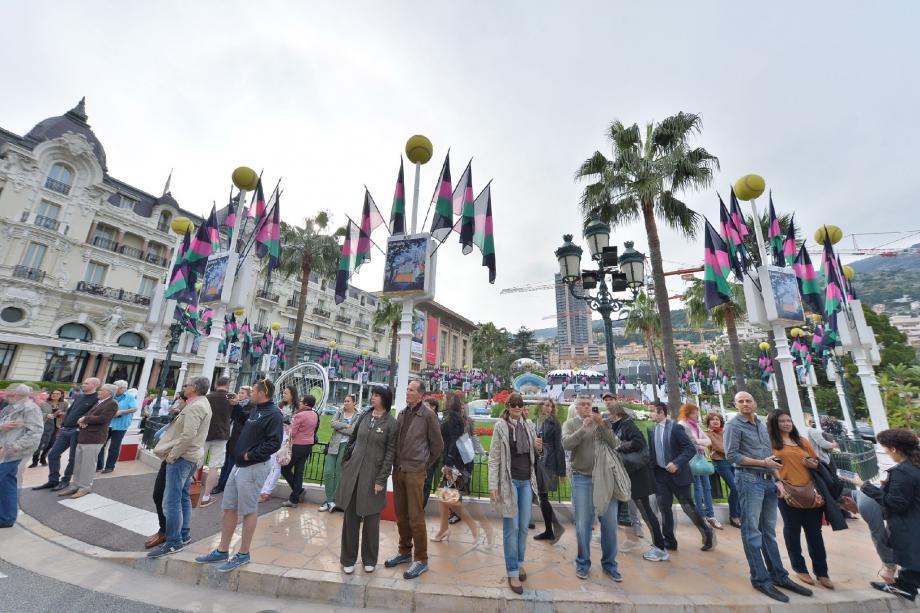 Point d'attraction des touristes, la place du Casino aura encore fait le plein en 2014, avant d'entamer ses grands travaux.