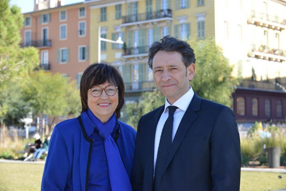 Janine Gilletta et Philippe Soussi, un binôme (UMP-UDI) à la conquête du 9e canton.