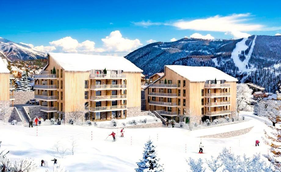 Les Monts d'Azur, mix de résidence privée et hôtelière, remplacera l'USBTP en 2017.