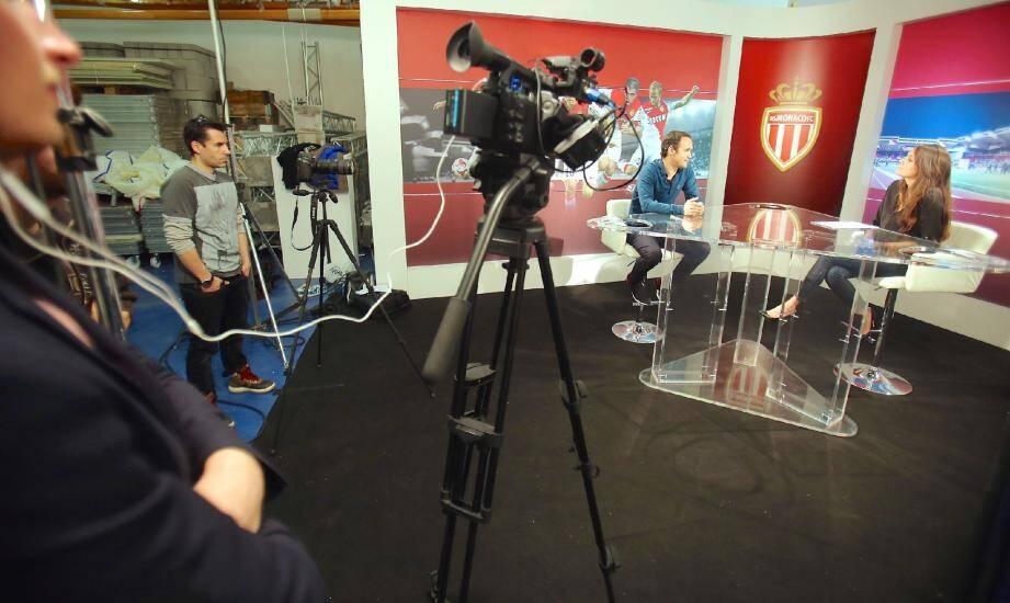 La journaliste Émilie Rousseau a reçu, hier en plateau, le joueur rouge et blanc Ricardo Carvalho, pour une émission enregistrée exceptionnellement à la Société nautique.