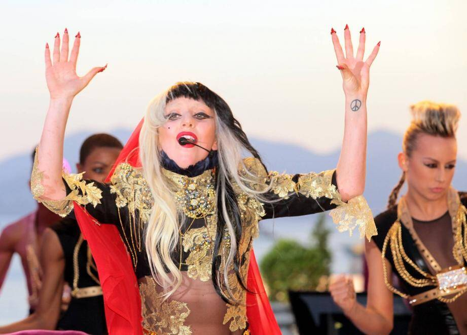 La chanteuse américaine, Lady Gaga.