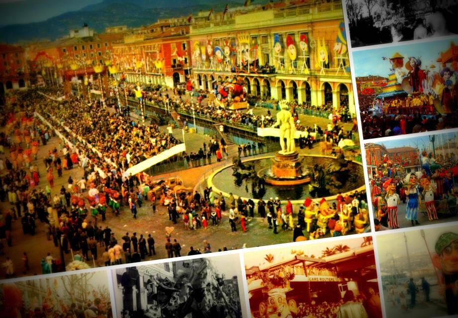 Retour en images sur les décennies passées du Carnaval de Nice