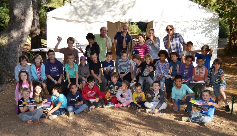 Les enfants étaient venus en nombre participer aux ateliers lors des dernières vacances de la Toussaint.