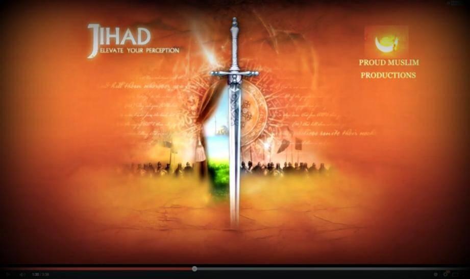 Video jihad propagande facebook omar el hussein copenhague 150216