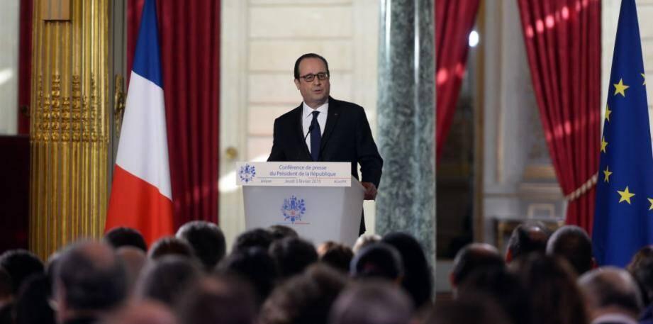 Hollande conférence de presse 1