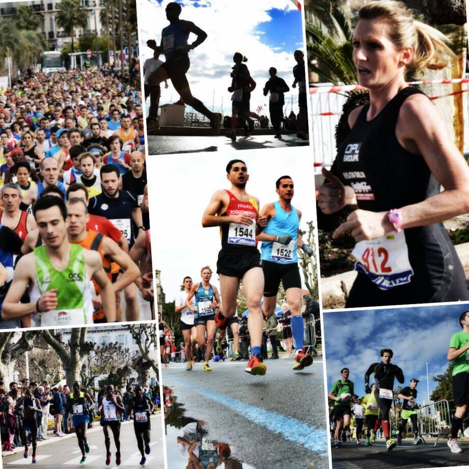 Les marathoniens n'ont pas démérité sur les 10 km de parcours