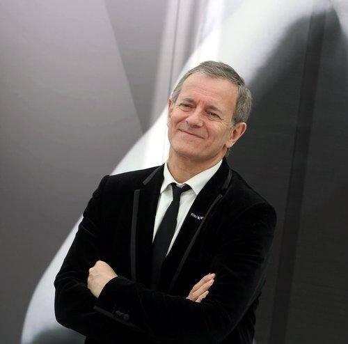 L'auteur et comédien  Francis Huster