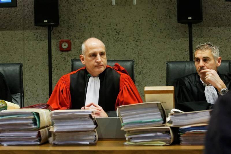 Le président de la cour d'assises Thierry Fusina.