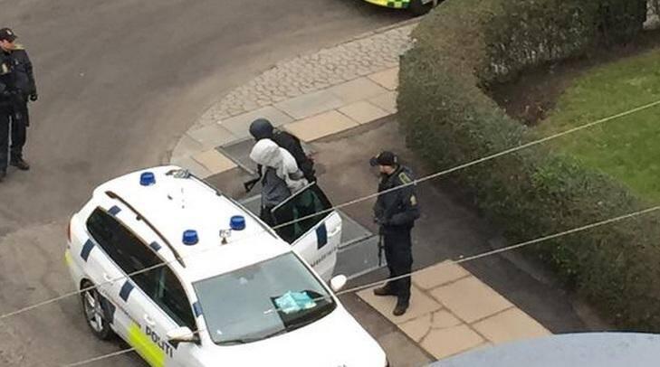 Arrestation quartier Osterbro copenhague attentats attaques terroristes terrorisme 150215