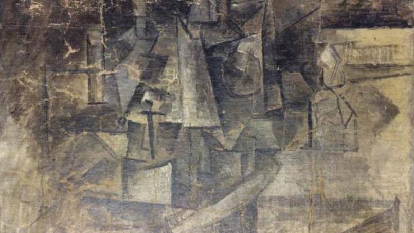 """""""La coiffeuse"""" de Picasso a été peinte en 1911"""