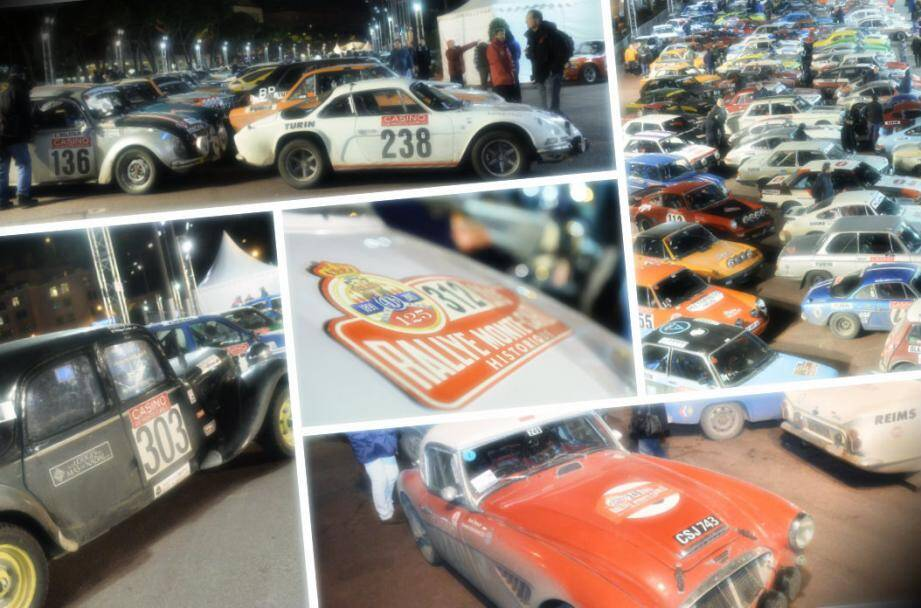 Les voitures de collection étaient regroupées sur le port de Monaco pour clore l'édition 2015 du rallye de Monte-Carlo historique