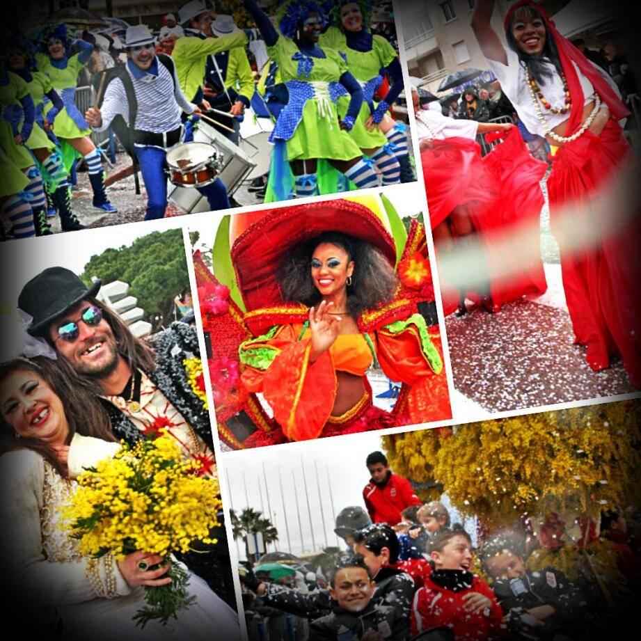 La pluie n'a pas arrêté les Cavalairois pour le Carnaval