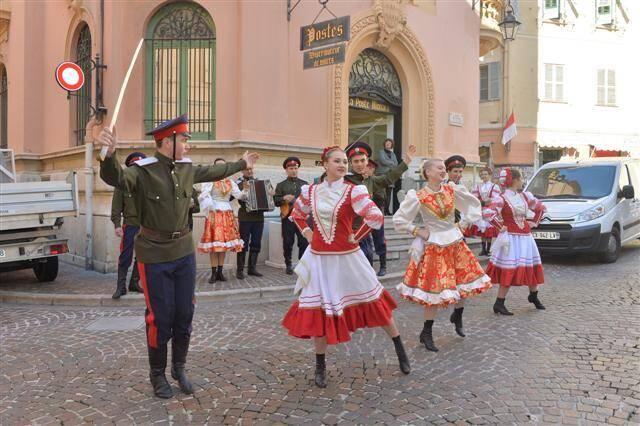 Les cosaques à Monaco