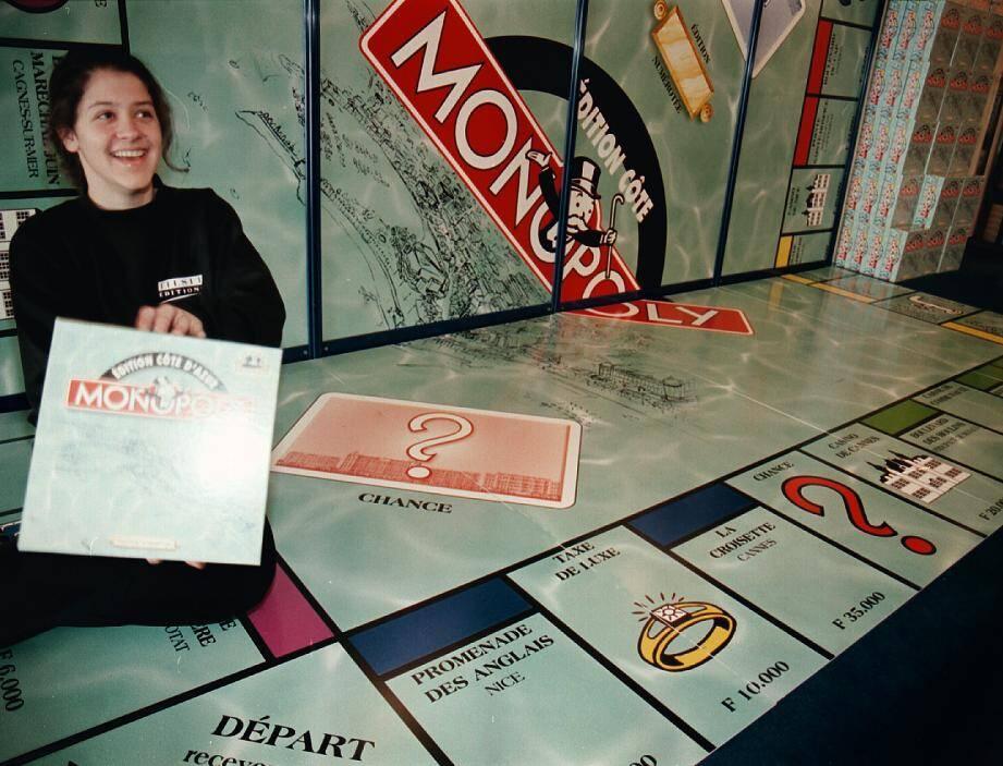 Archive N-M lors du festival jeux Monopoly