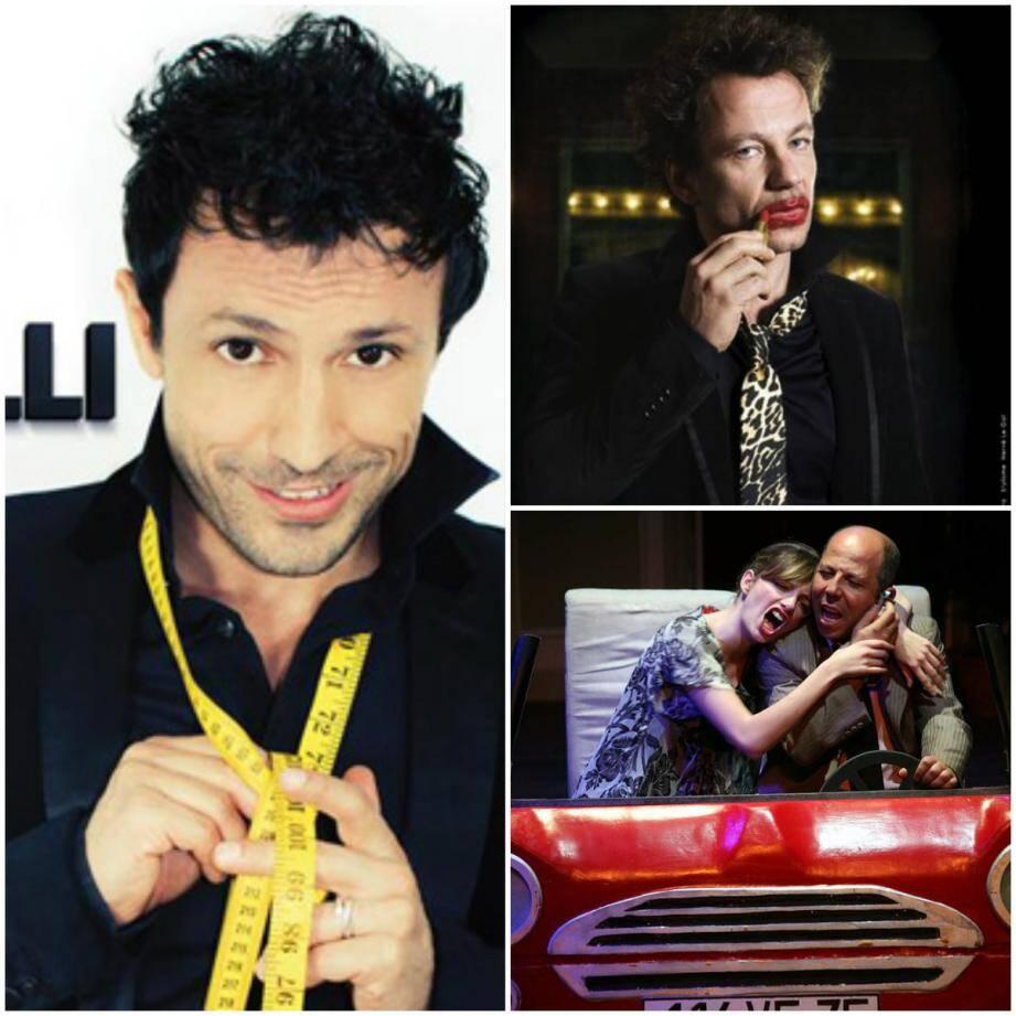"""Willy Rovelli, Tano ou la pièce de Farid Omri """"Couscous aux lardons"""" à l'affiche du Festival de L'Humour."""