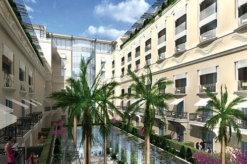 Les travaux de rénovation de l'Hôtel de Paris qui seront terminés à l'horizon 2019 et la construction de sept tours en lieu et place du Sporting d'Hiver, place du Casino, sont estimés à 650 millions d'euros.