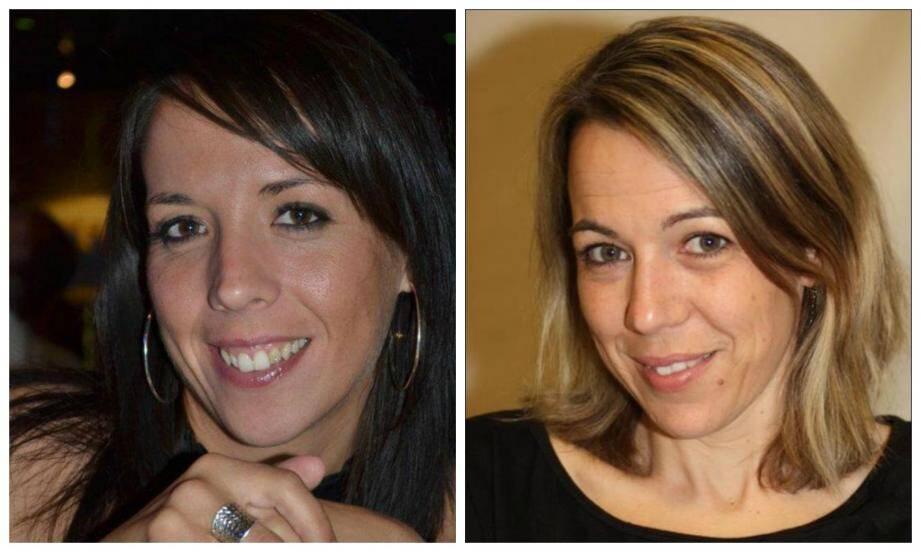Alicia Champlon et Audrey Bertaut.